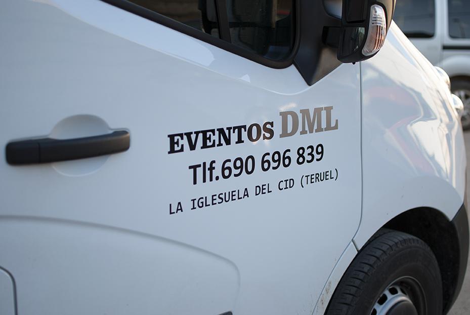 rotulación con vinilo para vehículos en Iglesuela del Cid Teruel